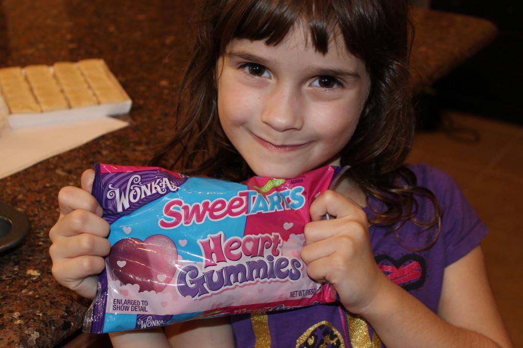 Wonka Sweetarts Heart Gummies