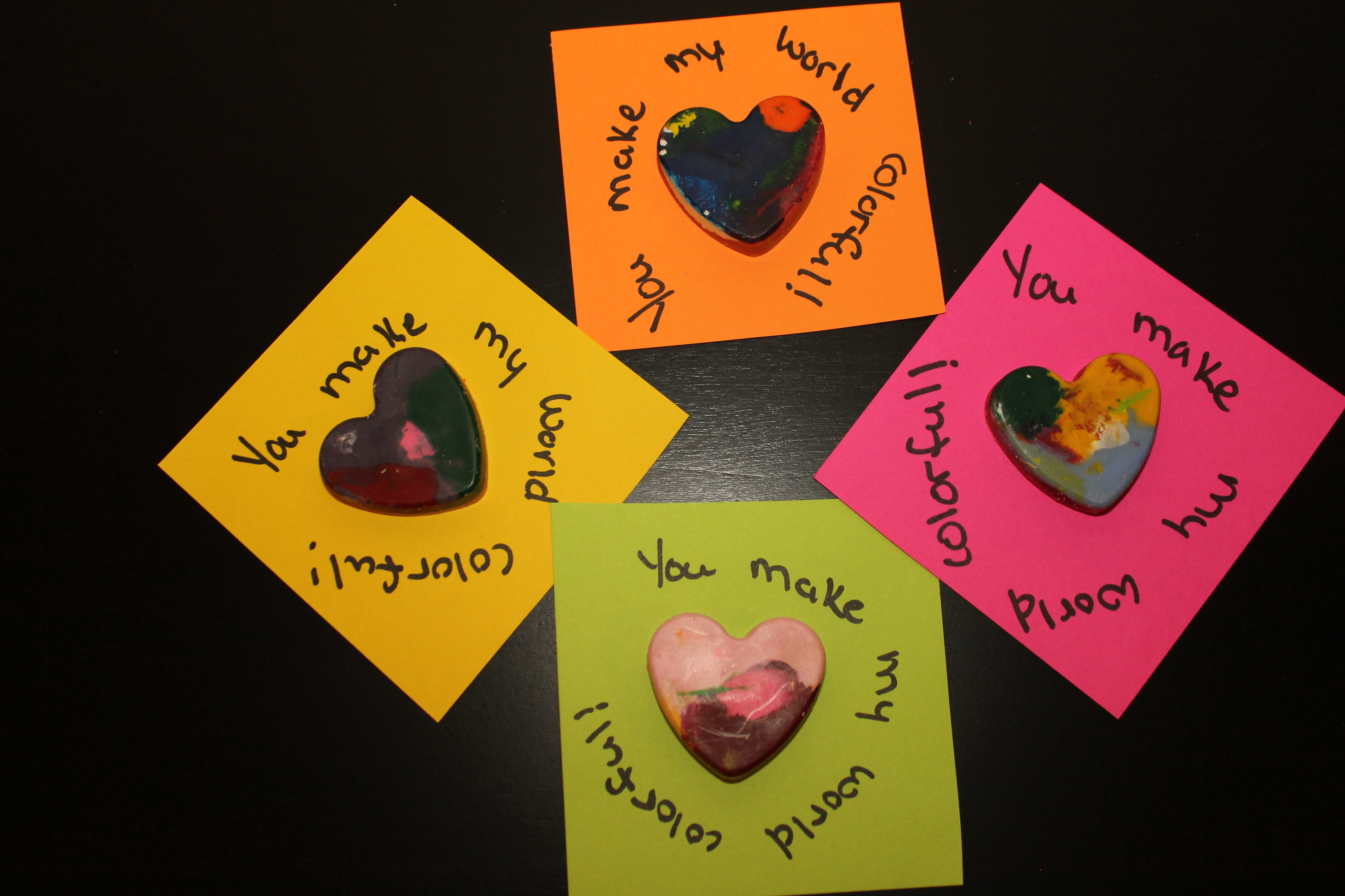 DIY Crayon Hearts and Valentines Day Cards Craft for Kids – Valentines Day Cards Crafts
