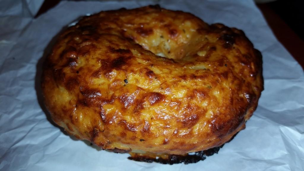 Tomato Mozzarella Supreme Bagel