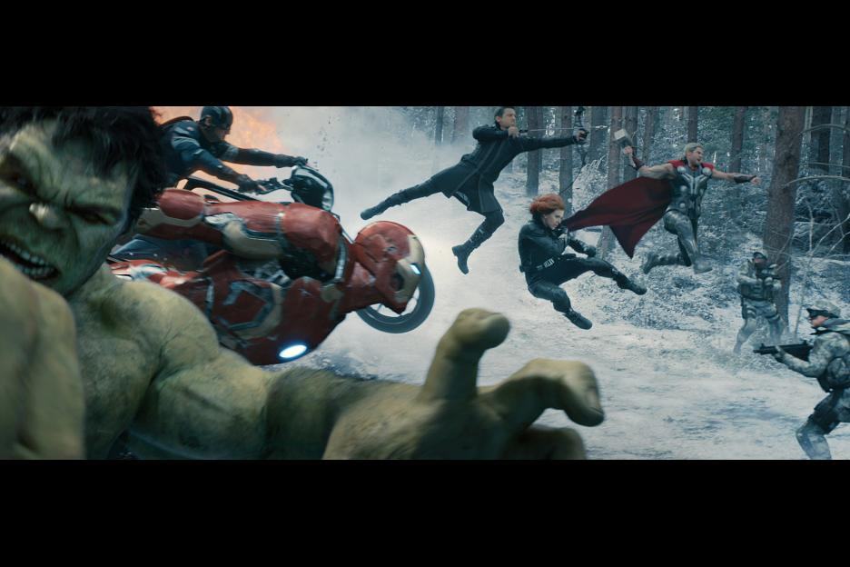 avengers age of ultron in theatres everywhere today