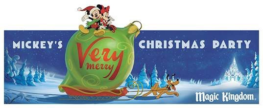 each year disney world on select nights has mickeys very merry christmas party - Disney Christmas Party 2015