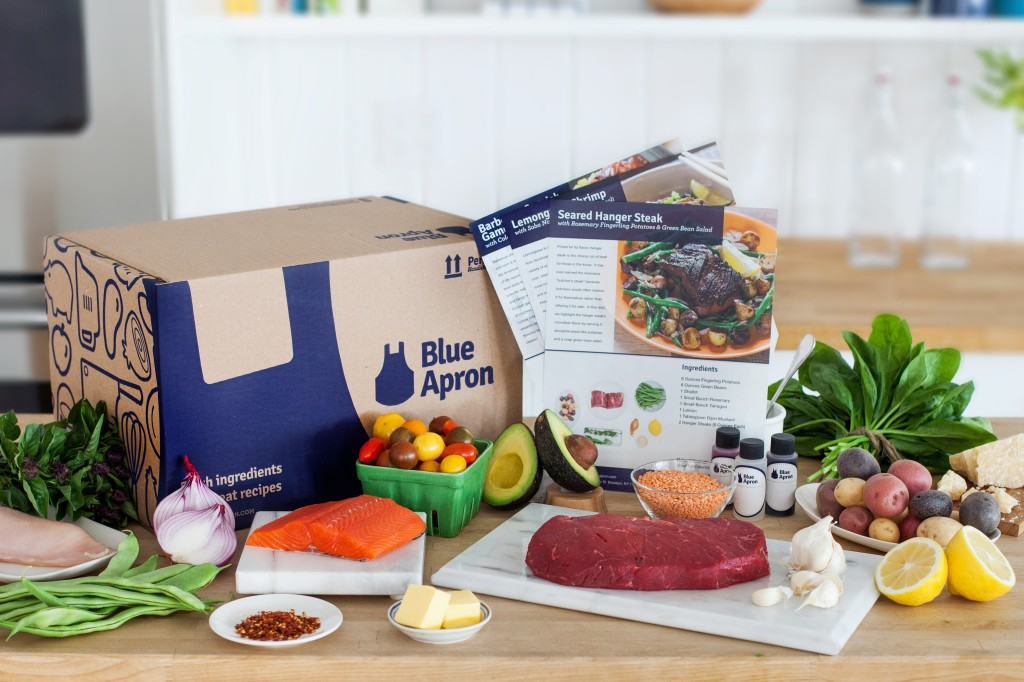 Blue Apron product shot
