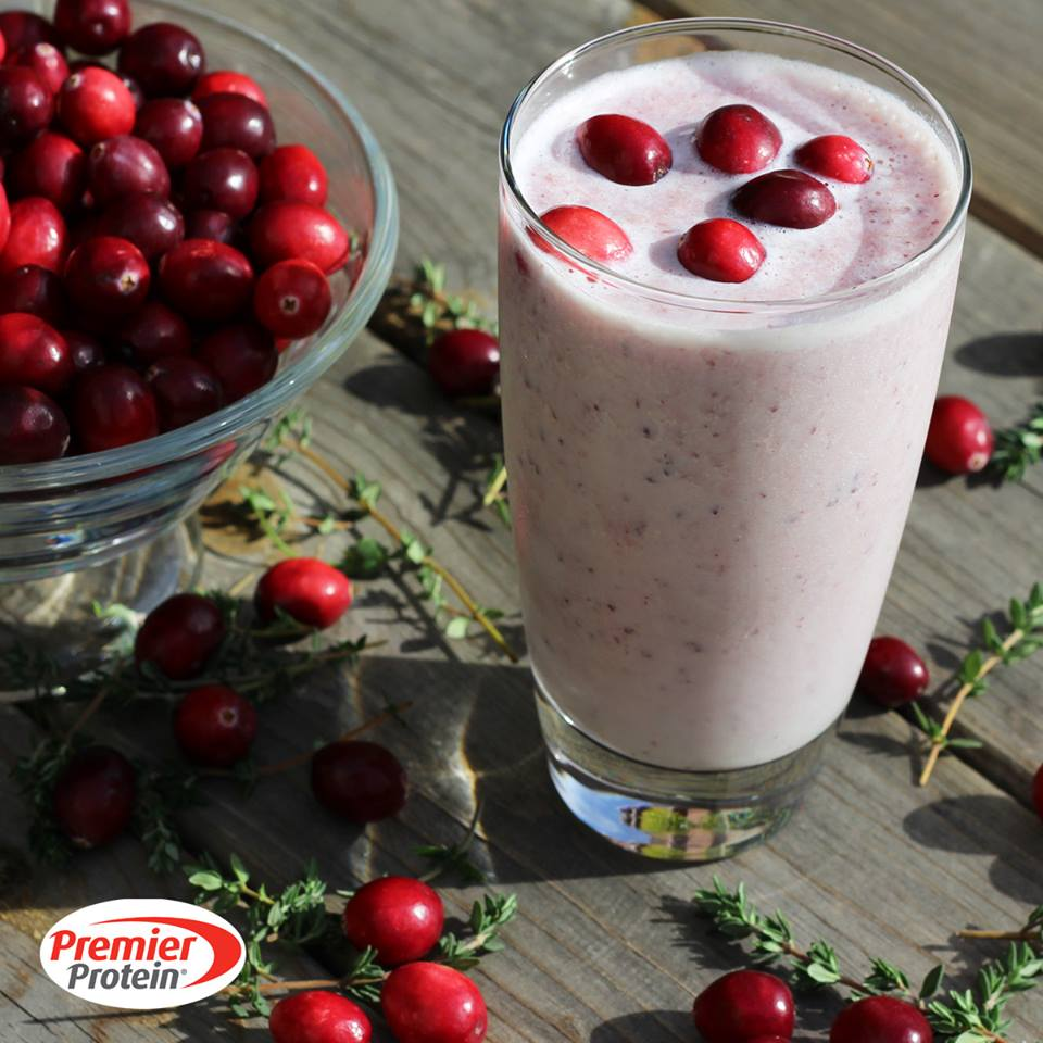 Cranberry Protein Shake