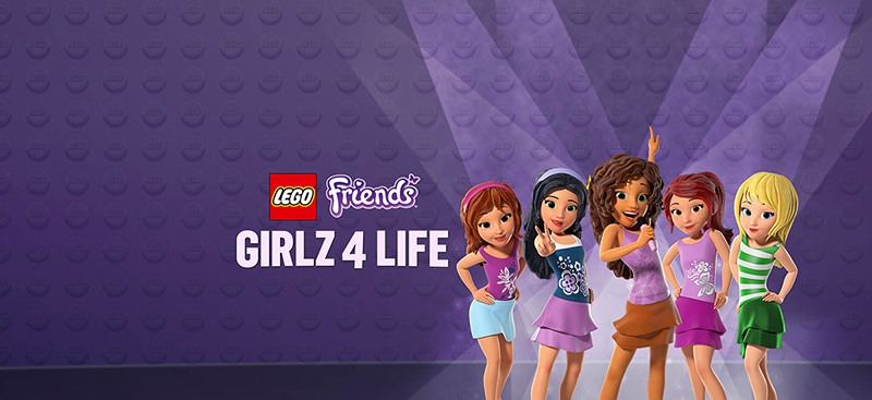 Own The New LEGO® FRIENDS: GIRLZ 4 LIFE on Blu-ray Combo Pack, DVD