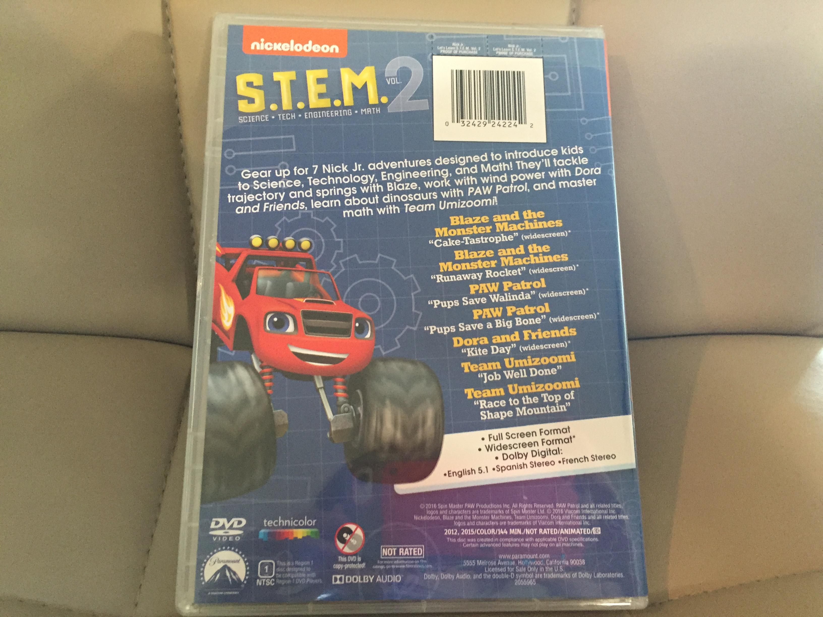 Pics photos description from nick jr favorites vol 2 dvd wallpaper - Img_2962 Img_2963 Fullsizerender Nickelodeon S Let S Learn S T E M Volume 2
