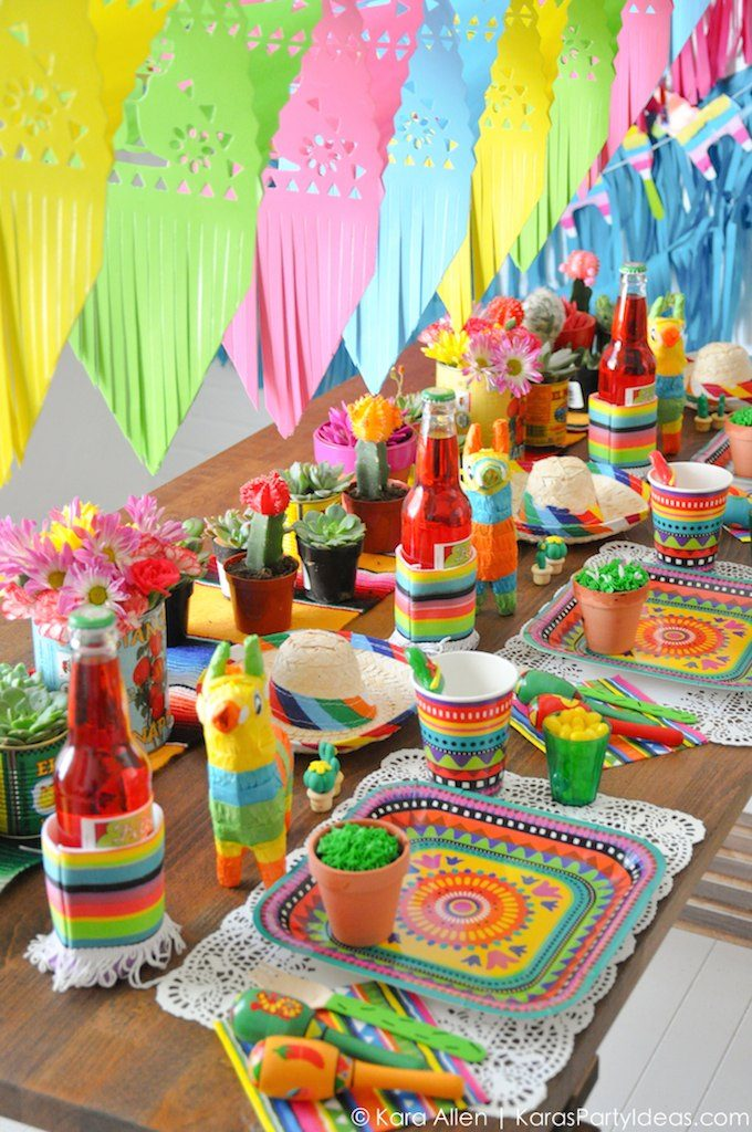 Мексиканская вечеринка атрибутика своими руками 1
