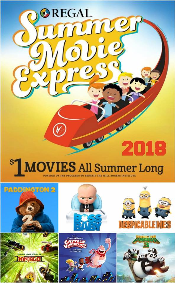 regal $1 summer movies 2020